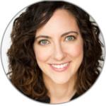 Headshot of Julie Kline, Julie is caucasian and has shoulder length brown hair.